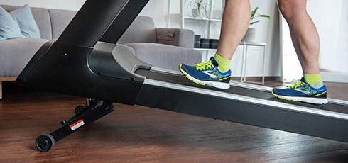 Figure: Trening biegowy z nachyleniem