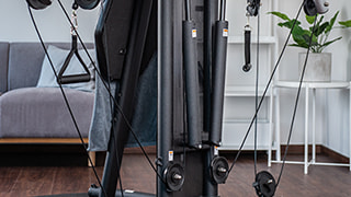 Figure: Støjsvag styrketræning med hydraulikcylindre