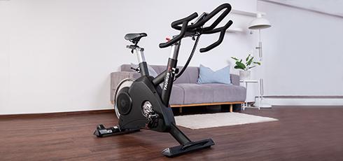 Figure: Indoor Cycle met wattbesturing en een vaste naaf