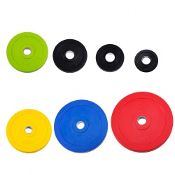 Rubber Encased Weight Plates 50mm