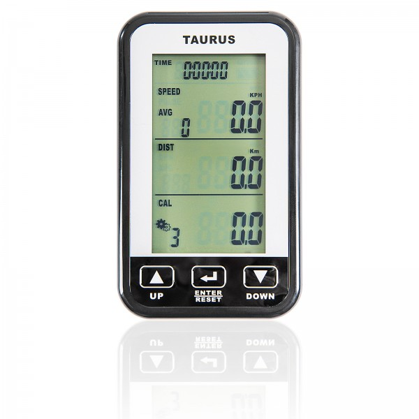 Taurus training computer for indoor cycle