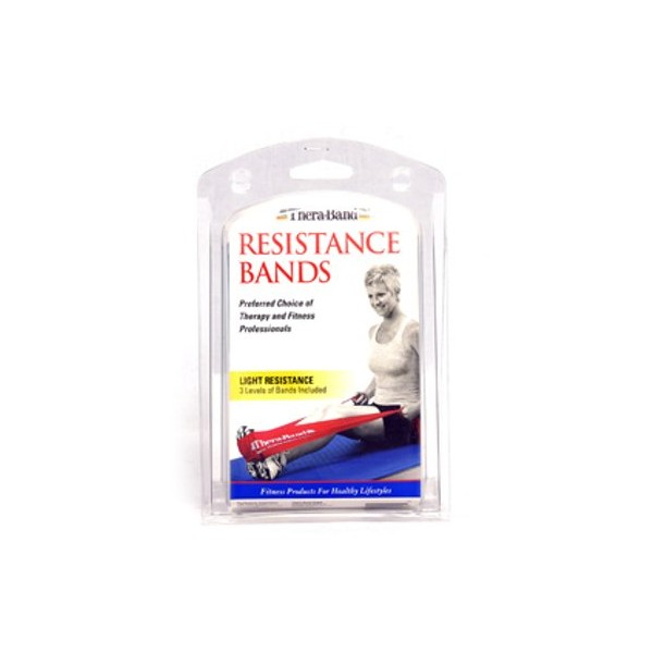 Thera-Band Resistance Bands Light 1,5 m, Set Of 3