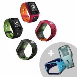 TomTom Runner 3 Cardio GPS-Sportuhr, S + Herzstrap