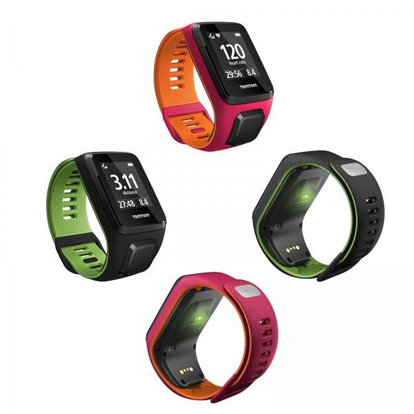 Sportovní hodinky GPS TomTom Runner 3 Cardio