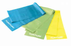 Tunturi Aerobic Band, Groen (Medium) | Weerstandsband
