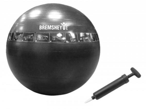 Bremshey Gymbal 65cm, Zwart, Anti Burst