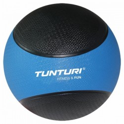 Tunturi Medicine Ball 4kg, Blue/Black