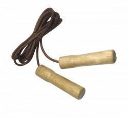 Tunturi Springtouw (houten Handgrepen)