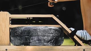 Figure: Realistický odpor vody