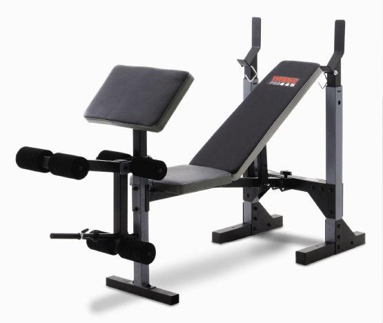 Banc de musculation Weider Pro 445 - Fitshop Banc Musculation Professionnel on