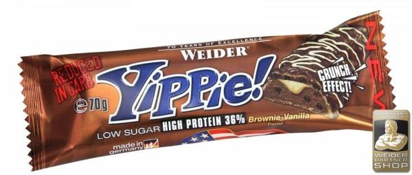 Weider High Protein Yippie! Bar, 12x70g
