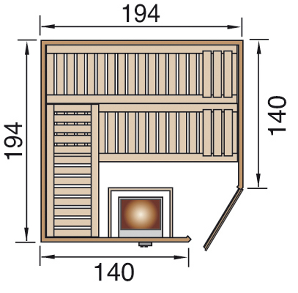 el ment sauna weka varberg fitshop. Black Bedroom Furniture Sets. Home Design Ideas