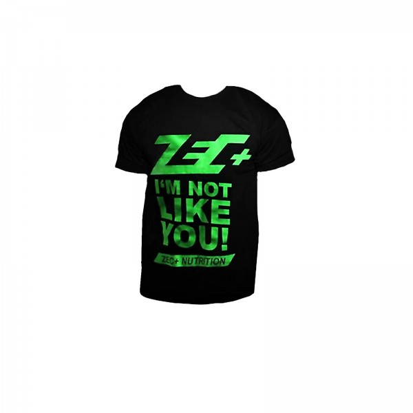 T-Shirt Zec+ Nutrition czarny