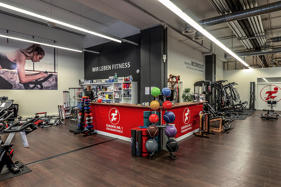 f46d39b20bb8 Sport-Tiedje in Graz - Europe s No. 1 for home fitness