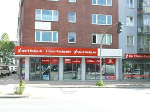 Filiale Hamburg Außenansicht