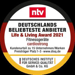 cardiostrong und Taurus Life & Living Award 2021