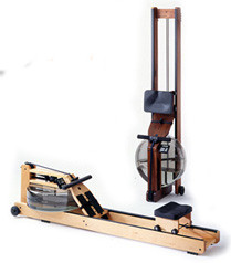 Rowing machines can be folded up space-efficiently