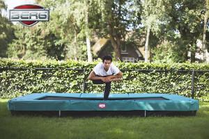Entraînement sur le trampoline