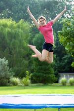 Trampoline de jardin - Le plaisir de sauter en plein air