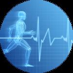 Mesure de la fréquence cardiaque avec une montre cardio