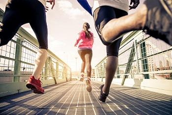 Entraînement de fitness avec une montre cardio